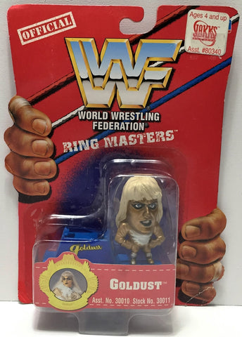 (TAS033940) - 1997 Titan Sports WWF Official Wrestling Ring Masters - Goldust, , Action Figure, Wrestling, The Angry Spider Vintage Toys & Collectibles Store  - 1