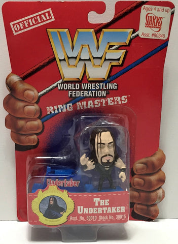 (TAS033941) - 1997 Titan Sports WWF Wrestling Ring Masters - The Undertaker, , Action Figure, Wrestling, The Angry Spider Vintage Toys & Collectibles Store  - 1