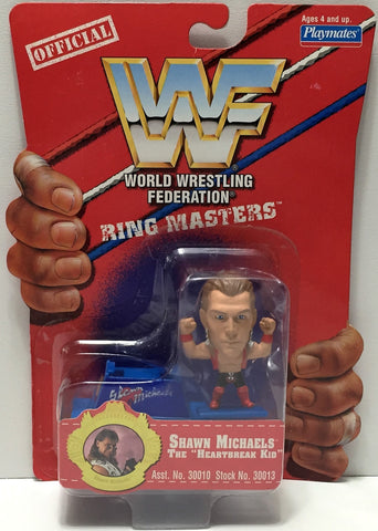 (TAS033942) - 1997 Titan Sports WWF Wrestling Ring Masters - Shawn Michaels, , Action Figure, Wrestling, The Angry Spider Vintage Toys & Collectibles Store  - 1