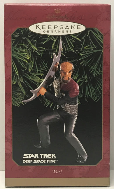 TAS040839 - 1999 Hallmark Keepsake Ornament Star Trek Deep Space Nine Worf