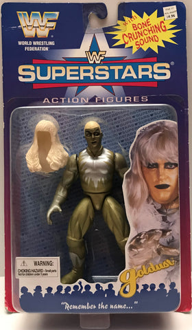 TAS023011 - Jakks WWF WWE Superstars Action Figure - Goldust