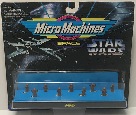 TAS040845 - 1996 Galoob Micro Machines Star Wars Space 66080 Jawas