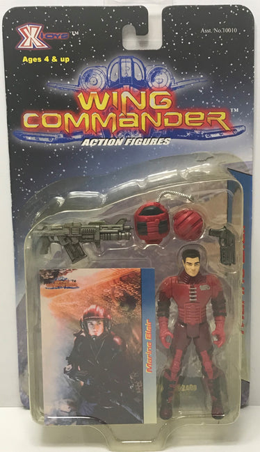 TAS039904 - 1999 X-Toys Wing Commander Action Figures - Marine Blair