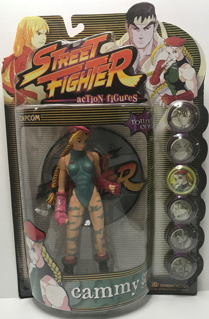 TAS039907 - 1999 Capcom Street Fighter Action Figures - Cammy