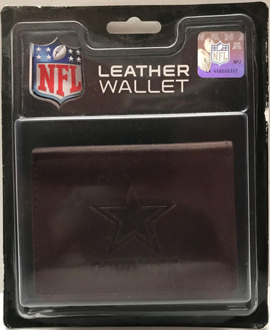 TAS023027 - NFL Football Dallas Cowboys Leather Wallet