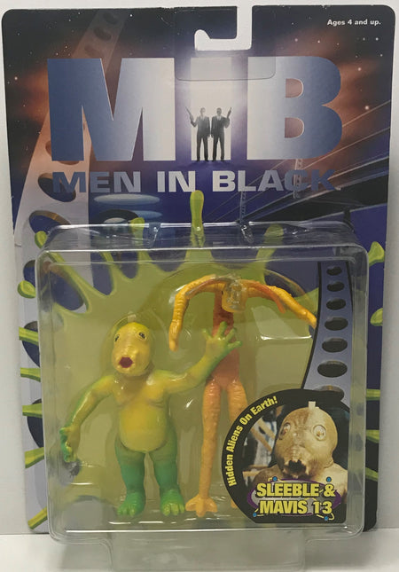 TAS039916 - 1997 Galoob MIB Men In Black Action Figure - Sleeble & Mavis 13