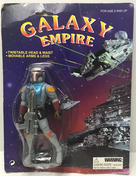 TAS039917 - 1997 Galaxy Empire (Star Wars) Action Figure - Boba Fett