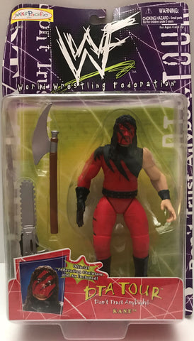 TAS015019 - 1998 Jakks WWE WWF DTA Tour Action Figure - Kane