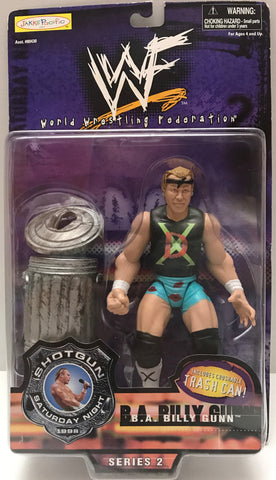 TAS015021 - 1998 Jakks WWE WWF Shotgun B.A. Billy Gun Action Figure
