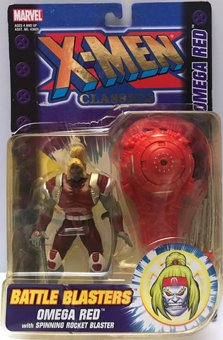 TAS015022 - 2000 Toy Biz Marvel X-Men Classics Figure - Omega Red