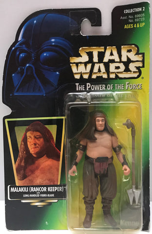 TAS015028 - 1997 Kenner Hasbro Star Wars - Malakili (Rancor Keeper)