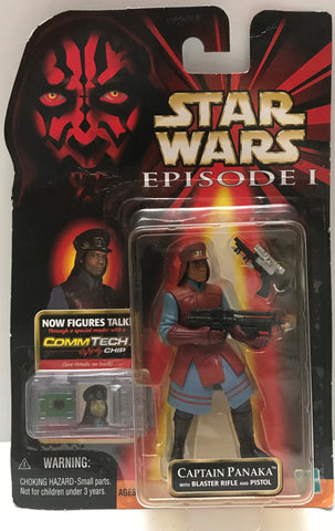 TAS015031 - 1999 Hasbro Star Wars Comm Tech - Captain Panaka Figure