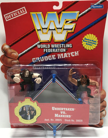 TAS002001 - 1997 Playmates WWF WWE Grudge Match - Undertaker Mankind