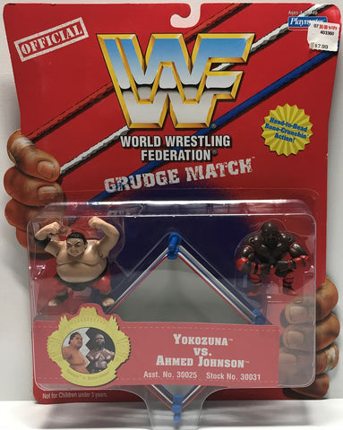 TAS002003 - 1997 Playmates WWF WWE Grudge Match - Yokozuna Ahmed