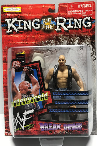 TAS002007 - 1999 Jakks WWE WWF King Of The Ring Stone Cold Steve Austin