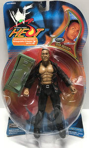 TAS002012 - 2001 Jakks WWE Heat Ringside Chaos - The Rock