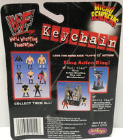 TAS002019 - 1999 Just Toys WWE Micro Bend-Ems Keychain - Steve Austin