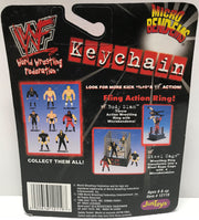 TAS002024 - 1999 Just Toys WWE Micro Bend-Ems Keychain - The Rock