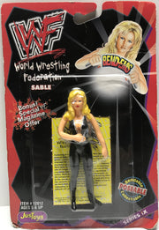 TAS002027 - 1998 Just Toys WWE WWF Bend-Ems - Sable IX