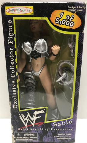 TAS002028 - 1999 Jakks WWE WWF Exclusive Figure - Sable