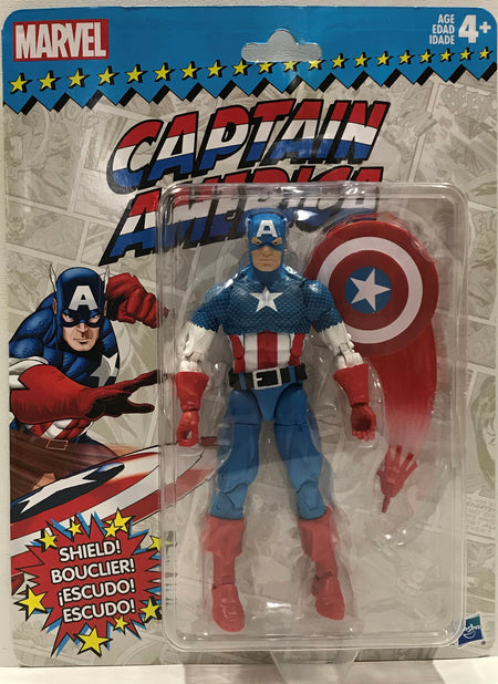 TAS039973 - 2017 Hasbro Marvel Avengers Action Figure - Captain America