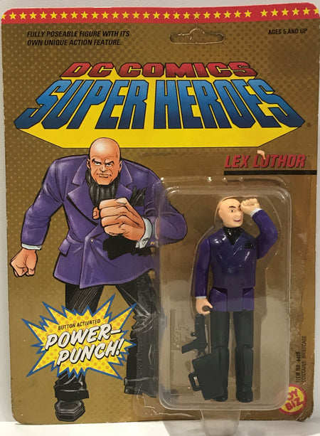 TAS039993 - 1989 Toy Biz DC Comics Super Heroes Action Figure - Lex Luthor