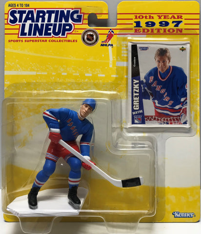 TAS019035 - 1997 Kenner Starting Lineup NHL - Wayne Gretzky
