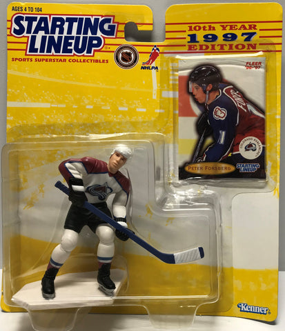 TAS019036 - 1997 Kenner Starting Lineup NHL - Peter Forsberg