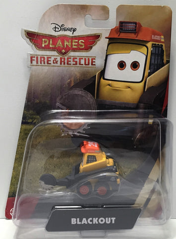 (TAS034463) - 2014 Mattel Disney Planes Fire & Rescue Action Figure - Blackout, , Action Figure, Disney, The Angry Spider Vintage Toys & Collectibles Store  - 1