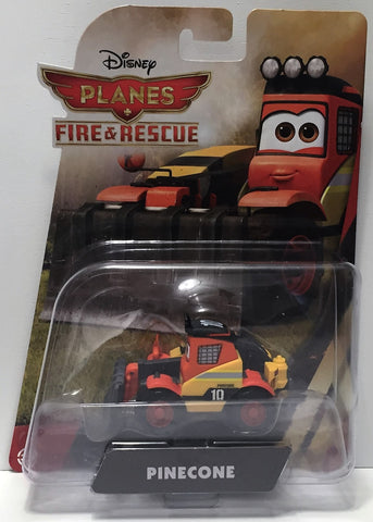 (TAS034466) - 2014 Mattel Disney Planes Fire & Rescue Action Figure - Pinecone, , Action Figure, Disney, The Angry Spider Vintage Toys & Collectibles Store  - 1