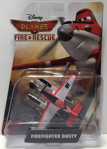 (TAS034467) - 2014 Mattel Disney Planes Fire & Rescue Action Firefighter Dusty, , Action Figure, Disney, The Angry Spider Vintage Toys & Collectibles Store  - 1