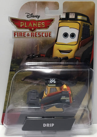 (TAS034468) - 2014 Mattel Disney Planes Fire & Rescue Action Figure - Drip, , Action Figure, Disney, The Angry Spider Vintage Toys & Collectibles Store  - 1