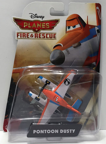 (TAS034471) - 2014 Mattel Disney Planes Fire & Rescue Action - Pontoon Dusty, , Action Figure, Disney, The Angry Spider Vintage Toys & Collectibles Store  - 1