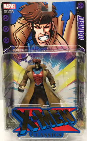 TAS024007 - 2000 Toy Biz Marvel X-Men Action Figure - Gambit