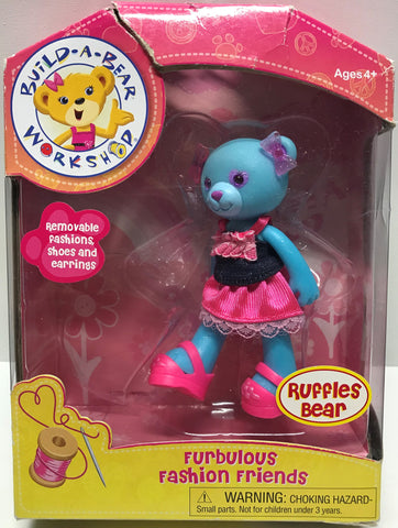 TAS024011 - 2012 Playmates Build-A-Bear - Furbulous Ruffles Bear