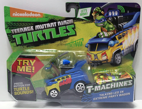 (TAS034484) - 2014 Viacom Teenage Mutant Ninja Turtles T-Machines - Talking Leo, , Action Figure, TMNT, The Angry Spider Vintage Toys & Collectibles Store  - 1