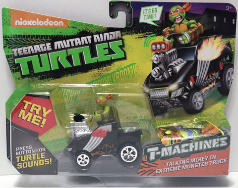 (TAS034485) - 2015 Viacom Teenage Mutant Ninja Turtles T-Machines Talking Mikey, , Action Figure, TMNT, The Angry Spider Vintage Toys & Collectibles Store  - 1