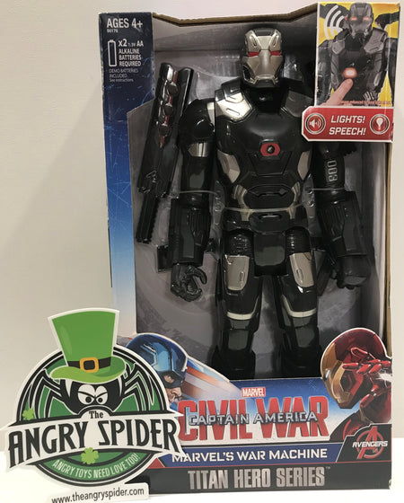TAS040559 - 2015 Hasbro Marvel Captain America Civil War - War Machine