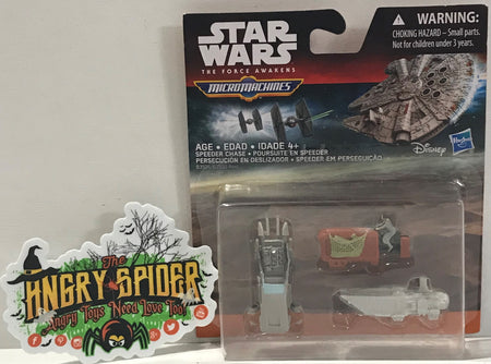 TAS040571 - 2015 Hasbro Star War Micro Machines Speeder Chase