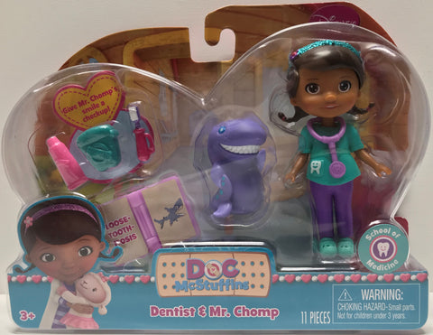 TAS026007 - 2014 Just Play Disney Doc McStuffins Dentist & Mr. Chomp