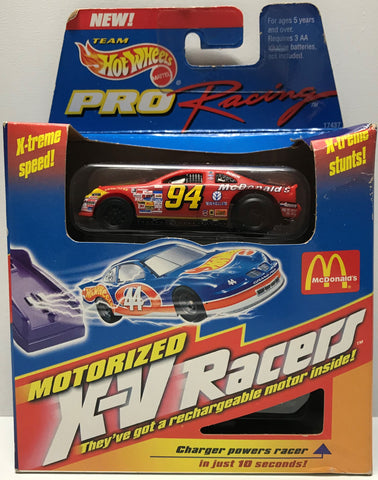 TAS026008 - 1996 Mattel Hot Wheels Die-Cast Pro X-V Racers