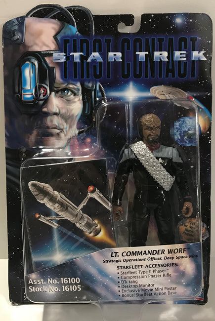 TAS040573 - 1996 Playmates Toys Star Trek First Contact - Lt. Commander Worf