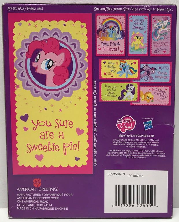 Tas026013 2016 american greetings my little pony valentines cards tas026013 2016 american greetings my little pony valentines cards m4hsunfo Images