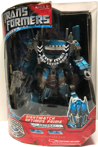 TAS027000 - 2007 Hasbro Transformers Nightwatch Optimus Prime