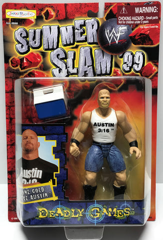 TAS027003 - 1999 Jakks WWF Summer Slam Deadly Games - Stone Cold Steve Austin