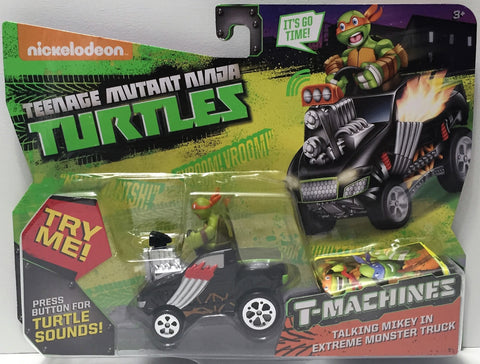 (TAS034452) - 2015 Viacom Teenage Mutant Ninja Turtles T-Machines Talking Mikey, , Action Figure, TMNT, The Angry Spider Vintage Toys & Collectibles Store  - 1