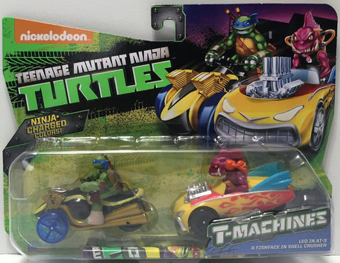 (TAS034453) - 2015 Viacom Teenage Mutant Ninja Turtles T-Machines - Leo - The Angry Spider Vintage Toys & Collectibles Store  - 1
