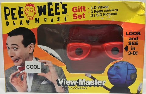 TAS027006 - 1987 Herman Toys Pee-Wee's Play House View-Master
