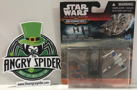 TAS040586 - 2015 Hasbro Micro Machines Star Wars Die-Cast Desert Invasion