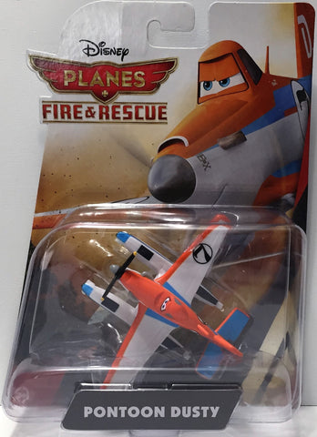 (TAS034445) - 2014 Mattel Disney Planes Fire & Rescue Figure - Pontoon Dusty, , Action Figure, Disney, The Angry Spider Vintage Toys & Collectibles Store  - 1